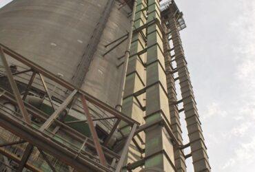 Mantenimiento a elevador de cemento