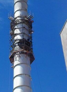reconstrucciones de chimenea industrial